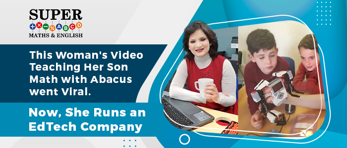 This Woman's Video Teaching Her Son Math with Abacus went Viral. Now, She Runs an EdTech Company